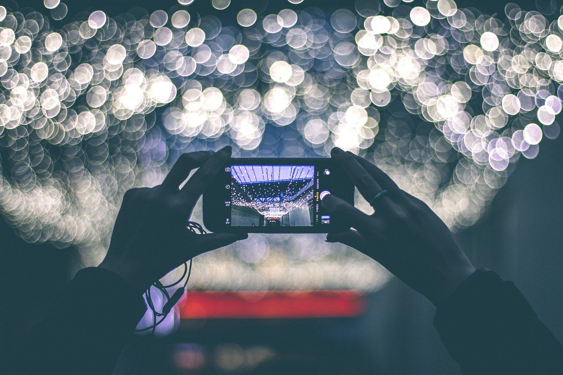 LGの2画面スマホのカメラ